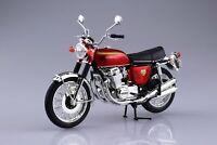 Aoshima  Motorcycle Model 1/12 Scale ToysSkynet Honda CB750FOUR (K0) Candy F/S