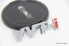 B157 VVTI Auto 3D Emblem Badge Aufkleber PKW KFZ emblema Car Sticker Silber