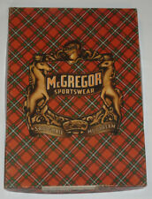 "Vintage 1950s McGregor Sweater Box Top! Bright Colors! Nice Shape! 10x14""!"