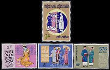 VIETNAM du SUD N°377/380* Costumes, 1970 South Viet Nam Sc#370-373 MH