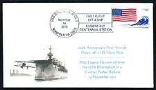 FIRST AIRPLANE TO FLY OFF A US NAVY SHIP USS BIRMINGHAM Naval Cover 8 MADE (3505