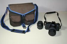 Minolta K9 35 mm Film Camera and Sigma Lenses Kit