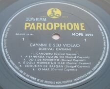 Dorival Caymmi E Seu Violao Parlophone MOFB 3093 lp ED1 Israeli 1st Press RARE