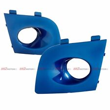 BLUE FOG LAMP LIGHTS BEZEL BUMPER COVER FITS FOR 06 07 SUBARU IMPREZA WRX STI