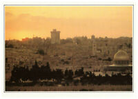 Jerusalem The Holy City and Dome of the Rock. Israel, Palestine Rare Postcard