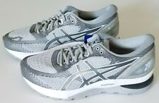 Asics Women's 11 Gel Nimbus 21 Running Shoes Mid Grey/Silver 1012A156-020