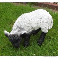 Gartenfigur Lamm 8938 Schaf Heidschnucke Garten Deko lebensecht Figur