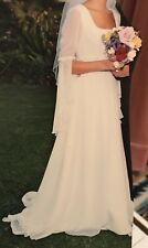 Preserved Vintage Pronovias Atelier Wedding Dress Gown Modest Maiden Couture