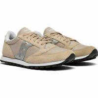 Saucony S2866-269 Men's Jazz Low Pro Sneakers - Tan / Silver - US 9
