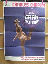 3930            EL GRAN DICTADOR CHARLES CHAPLIN