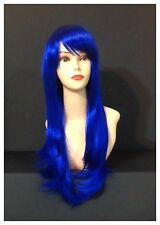 Hot Stylish Long Wavy Wigs, Party, Cosplay, Fancy Dress, Blue Colour Wigs