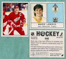 1988-89 Panini Complete Hockey Set of 408 MINT Stickers