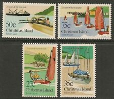CHRISTMAS IS 1983 25 Years BOAT CLUB 4v  MNH