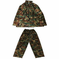 kids Camo waterproof trousers jacket suit ages 2-13 yrs