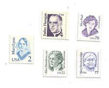 USA set 5 francobolli Nuovi Mint    Rif 7