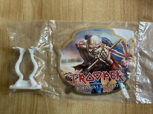 IRON MAIDEN TROOPER BEER  PUMP CLIP - NEW / SEALED