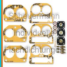 3x Reparatur-/Dichtsatz Weber 40 DCN 14 Vergaser Ferrari + Fiat Dino 2,0