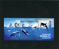 Australian Antarctic Terr 1995 Scott# 97b mint NH Singapore ovpt