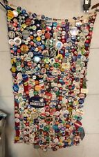 Vintage Political Button / Pin Lot 1976 Lot On A Flag Collection Nice Rare