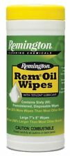 """Remington Accessories 18384 Rem Oil Pop Up Wipes Gun Cleaning Wipes 7""""x8"""""""