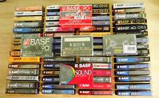65 BASF Leercassetten in unterschiedlichen Ausführungen alle OVP.