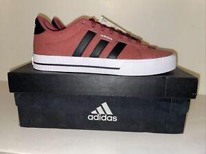 Adidas Daily 3.0 Maroon Mens 7.5 Skateboard Shoe Legacy Red