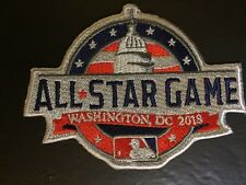 2018 All Star Game Patch Mlb Baseball Washington Dc July 17Th Jersey Style 4""