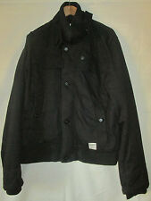Da Uomo G-STAR RAW cappotto nero taglia XL