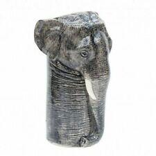 Elephant Flower Vase by Quail Pottery Ceramics Wildlife Gift