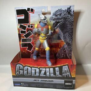 """Godzilla Jet Jaguar 6.5"""" Vinyl Action Figure Playmates Toys Toho 2021 NIB"""