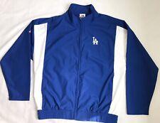 Los Angeles Dodgers Majestic Windbreaker Jacket Sz L/XL