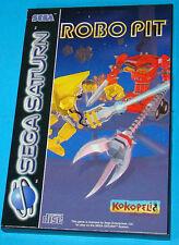 Robo Pit - Sega Saturn - PAL
