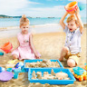 19PCS Kids Toddlers Beach Bucket Set Sandpit Toys Set Outdoor Sand Play Travel