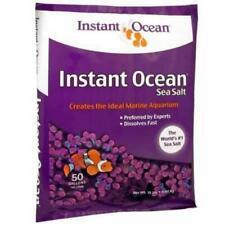 Instant Ocean Sea Salt for Marine Aquariums, Nitrate & 50-Gallon