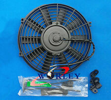 "16 inch electric universal fan with mounting kit cooling radiator 16"" 12V"
