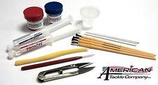 American Tackle Rod Builders starter Kit, Rod Building