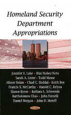 Homeland Security Department Appropriations - New Book Lake, Jennifer E., Moteff