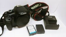 Canon EOS Rebel T3 Digital SLR Camera w/Charger 2 Batteries