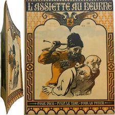 L'Assiette au beurre n°8 1901 Dieu tzar patrie Forain Steinlen Jacques Villon