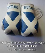 Scotland Flag/Scots mini boxing gloves 4 your car mirror-Get the best.SECONDS