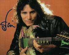 GFA David Lee Roth Guitarist * STEVE VAI * Signed 8x10 Photo PROOF S3 COA