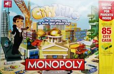 Monopoly City Ville Board Game Brand New Sealed Age 8+ Hasbro