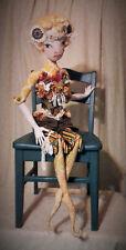 "*NEW* Cloth Art Doll (Paper) Pattern ""Kimama"" By Paula McGee"