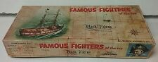 Aurora 1950's Famous Fighters of the Sea Black Falcon Plastic Model Kit #210