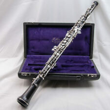 F. Loree Full Wood Conservatory Professional Oboe, Left F + Bb Resonance!