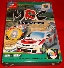 MRC MULTI RACING CHAMPIONSHIP Nintendo 64 N64 Vers NTSC Giapponese COMPLETO - D7