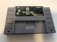 Demolition Man - Super Nintendo SNES - Cleaned & Tested