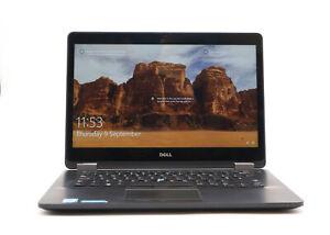 Dell Latitude E7470 Touchscreen Laptop i5 6300U 16GB RAM 256GB SSD Win 10Pro