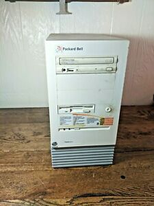Vintage Packard Bell Multimedia FORCE 4650 Computer Tower A940-TWRA