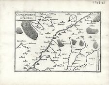 Antique maps, gouvernement de verdun